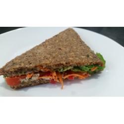 2 Sandwich cru, vegan, sans...